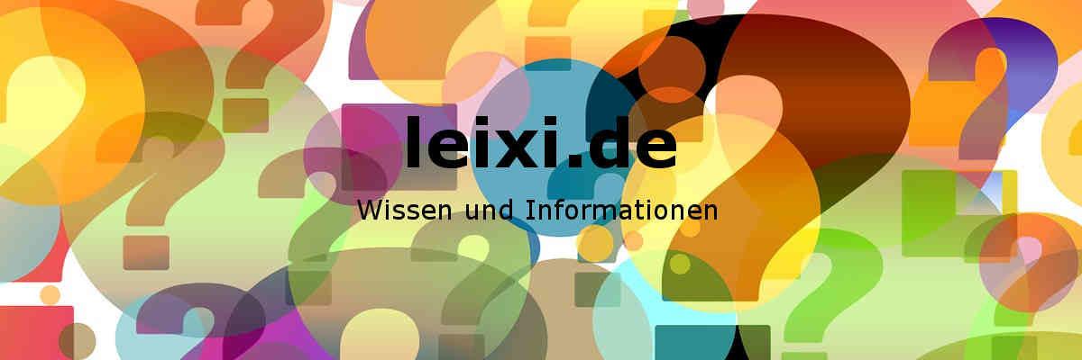 leixi.de - Wissen und Informationen